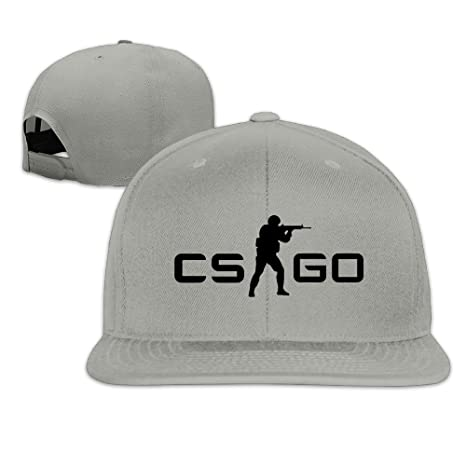 a6e7a5ea88d ONHSGBD Counter Strike Global Offensive CS GO Logo Baseball Cap Ash   Amazon.ca  Clothing   Accessories