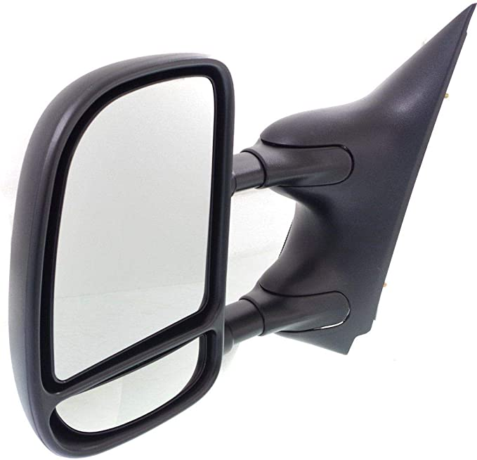 Kool Vue Power Towing Mirror For 2009-2014 Ford E-250 2009 E-350 Super Duty LH