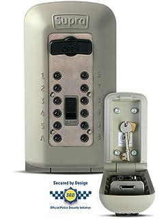 NRS Healthcare Supra C500 - Llavero caja fuerte de pared para exteriores