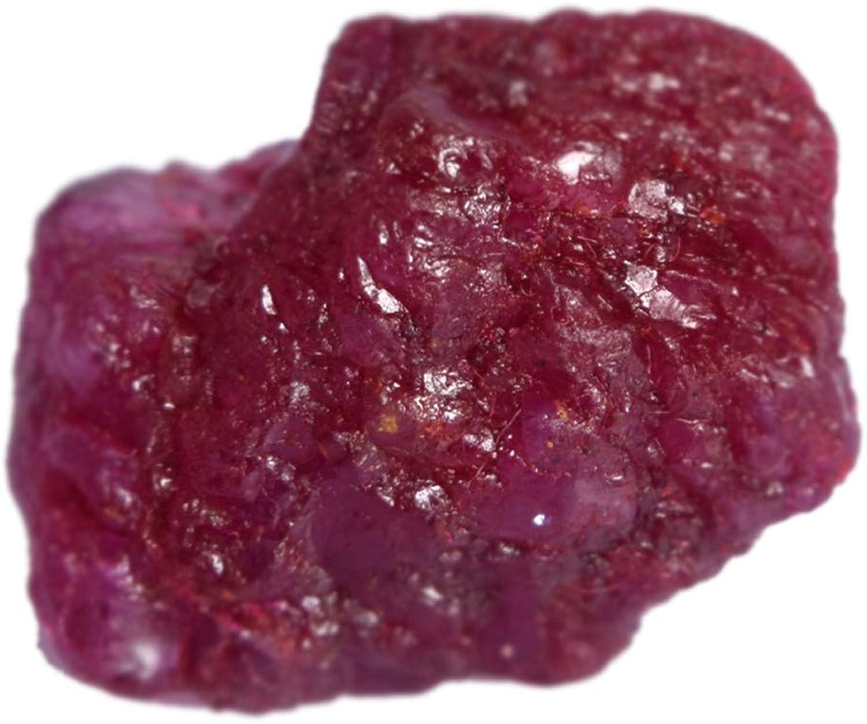 Gemhub Egl Certified Rojo rubí 22.00 CT. Una Piedra de rubíes Rojos ásperos sin procesar Naturales del Grado para Reiki Cabbing DP-335