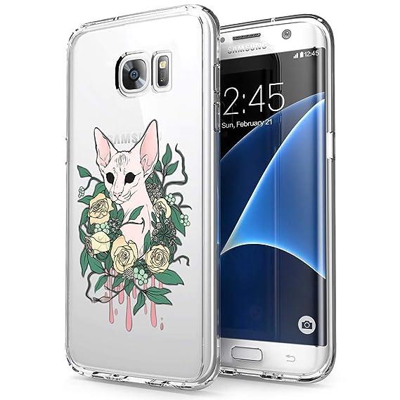 hot sale online 986b6 4120d Amazon.com: Samsung Galaxy S7 Edge Case Canadian Hairless,UV Print ...