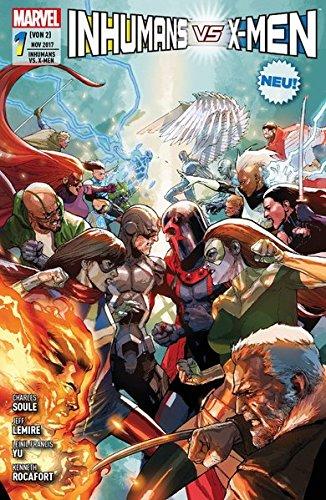 Inhumans vs. X-Men: Bd. 1 Taschenbuch – 13. November 2017 Charles Soule Leinil Francis Yu Jeff Lemire Kenneth Rocafort
