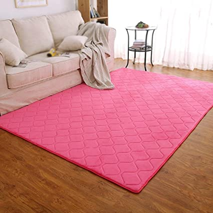 DEED Carpet-Bedroom Bedside Crawl Pad Simple European Thick Carpet Large Shop Carpet Modern Living Room Coffee Table Pad Entrance Hall Porch Water ...