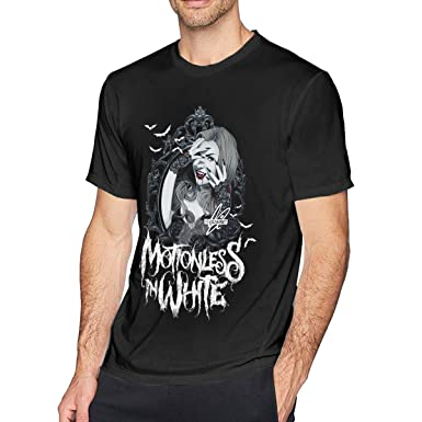 SOTTK Camisetas y Tops Hombre Polos y Camisas, Motionless in White ...