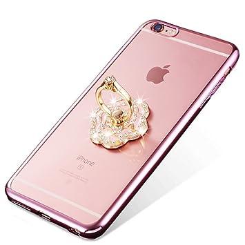 coque en silicone iphone 6 avec bague