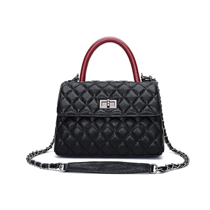 9f4d3278fa Amazon.com  Women s Small Leather Handbag Tote Shoulder Crossbody ...