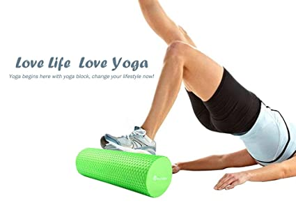 Ndier Eva - Rodillo de Espuma para Yoga (3,93 Pulgadas ...