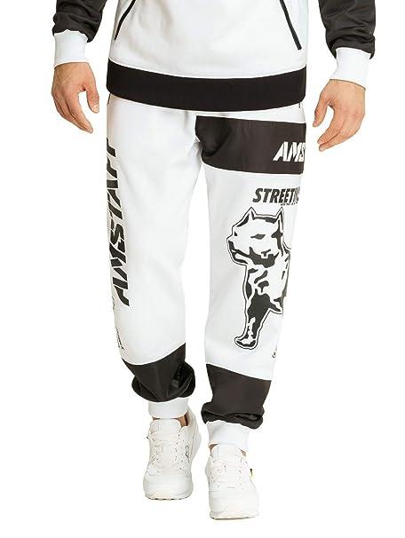 Amstaff Milito - Pantalones de chándal Blanco XXL: Amazon.es: Ropa ...