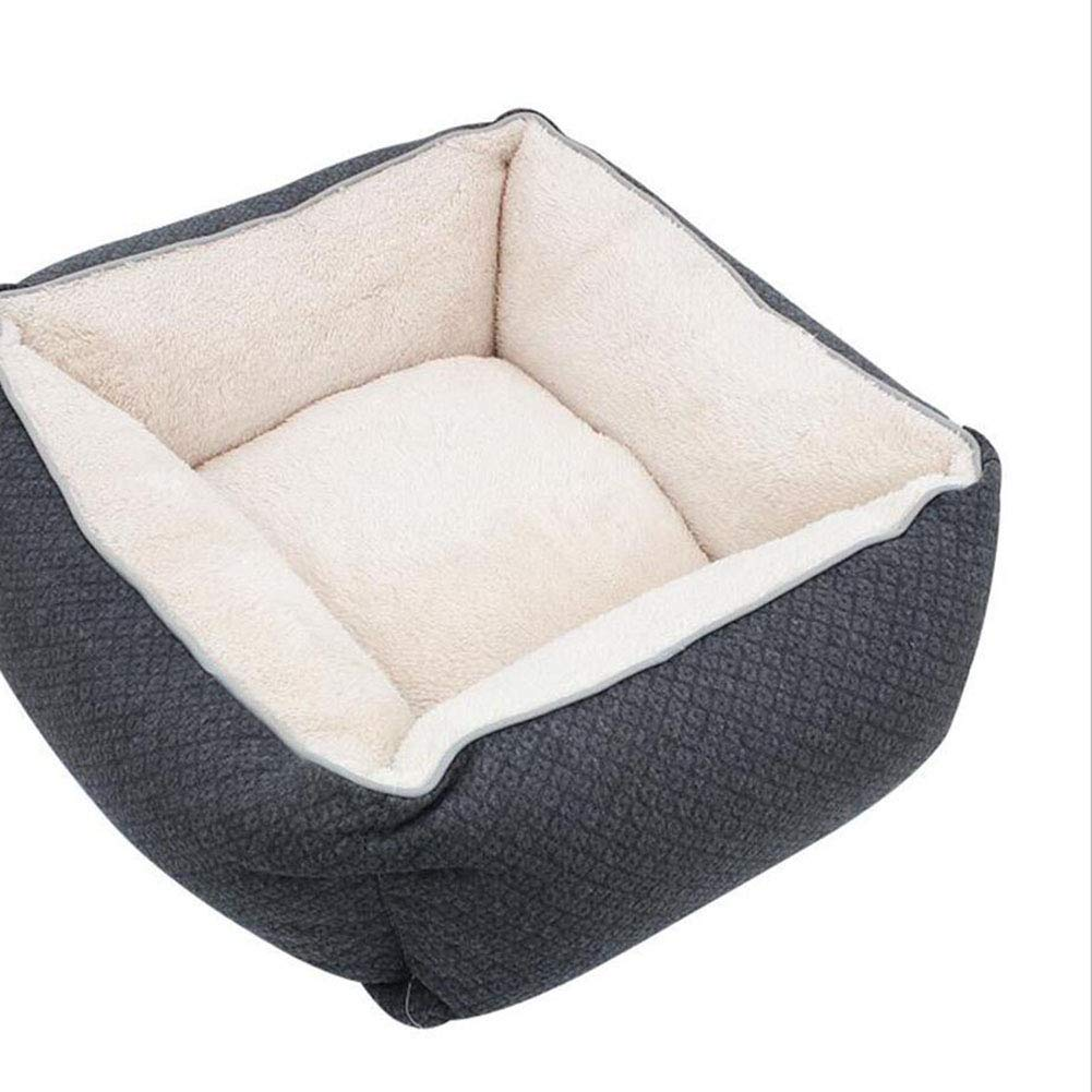 FH Nido De Mascota Nido De Perro Nido De Gato Lavable Extraíble Cuatro Estaciones Disponibles Casa De Gato Suministros para Mascotas Casetas para Perros: ...