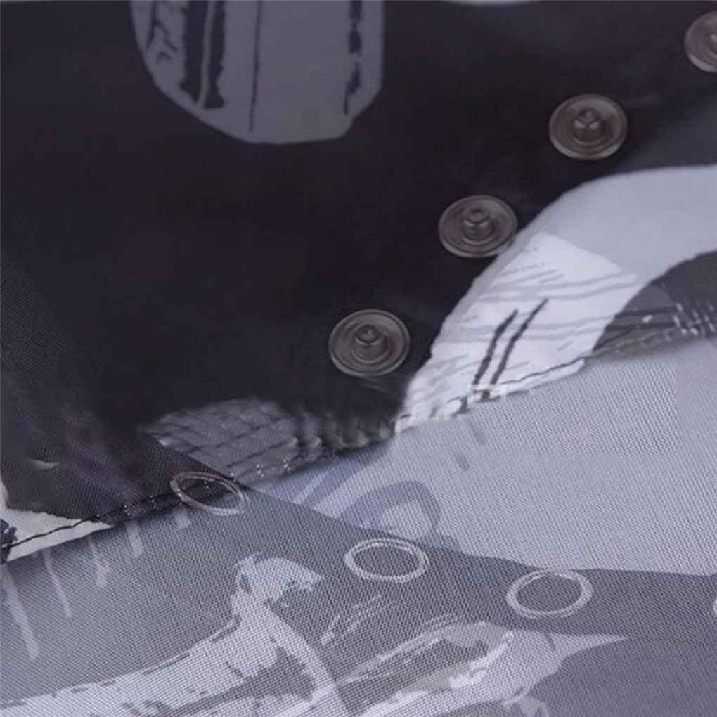 Demino Friseursalon Cape Abdeckung Haare schneiden Salon Home Use Wasserdicht Haar Stoff Salon Barber Kleid Cape f/ür Friseur