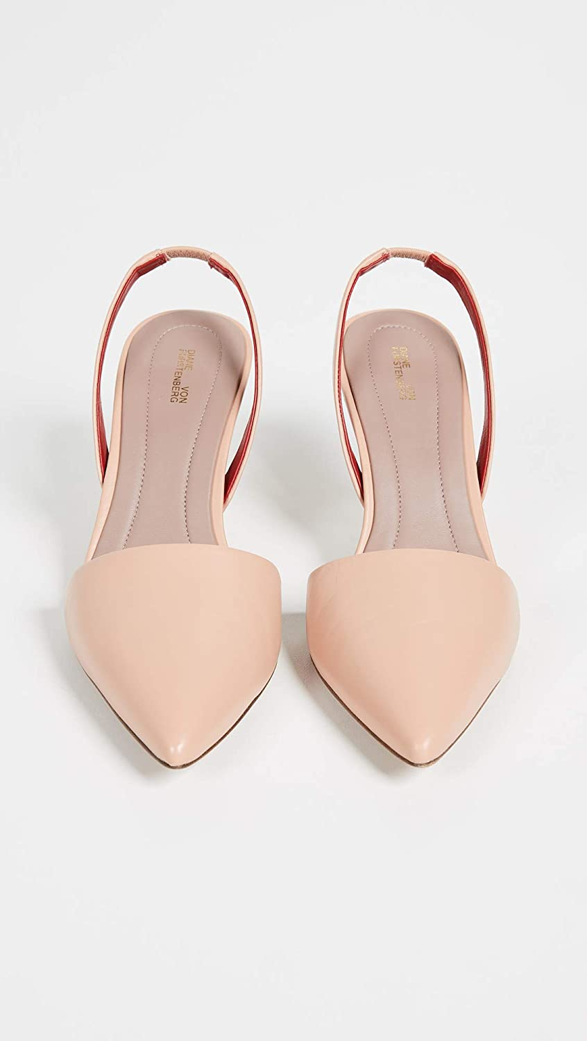 de1d7f46468 Amazon.com  Diane von Furstenberg Women s Mortelle Slingback Pumps  Shoes