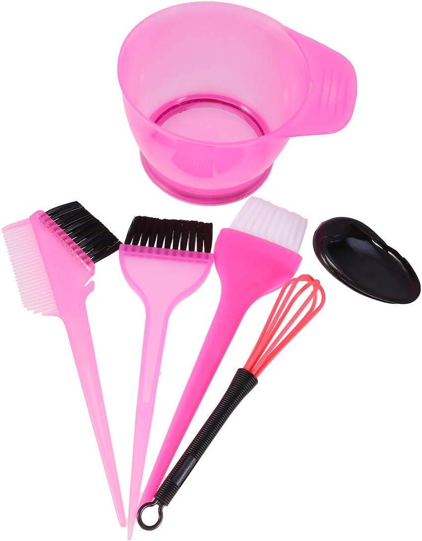 BETOY juegos para tinte de cabello, con peine de teñir, cepillos para dar color y cuenco para la mezcla, instrumentos de coloración del pelo, 10 ...
