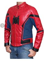 Spider man Homecoming New Leather Jacket