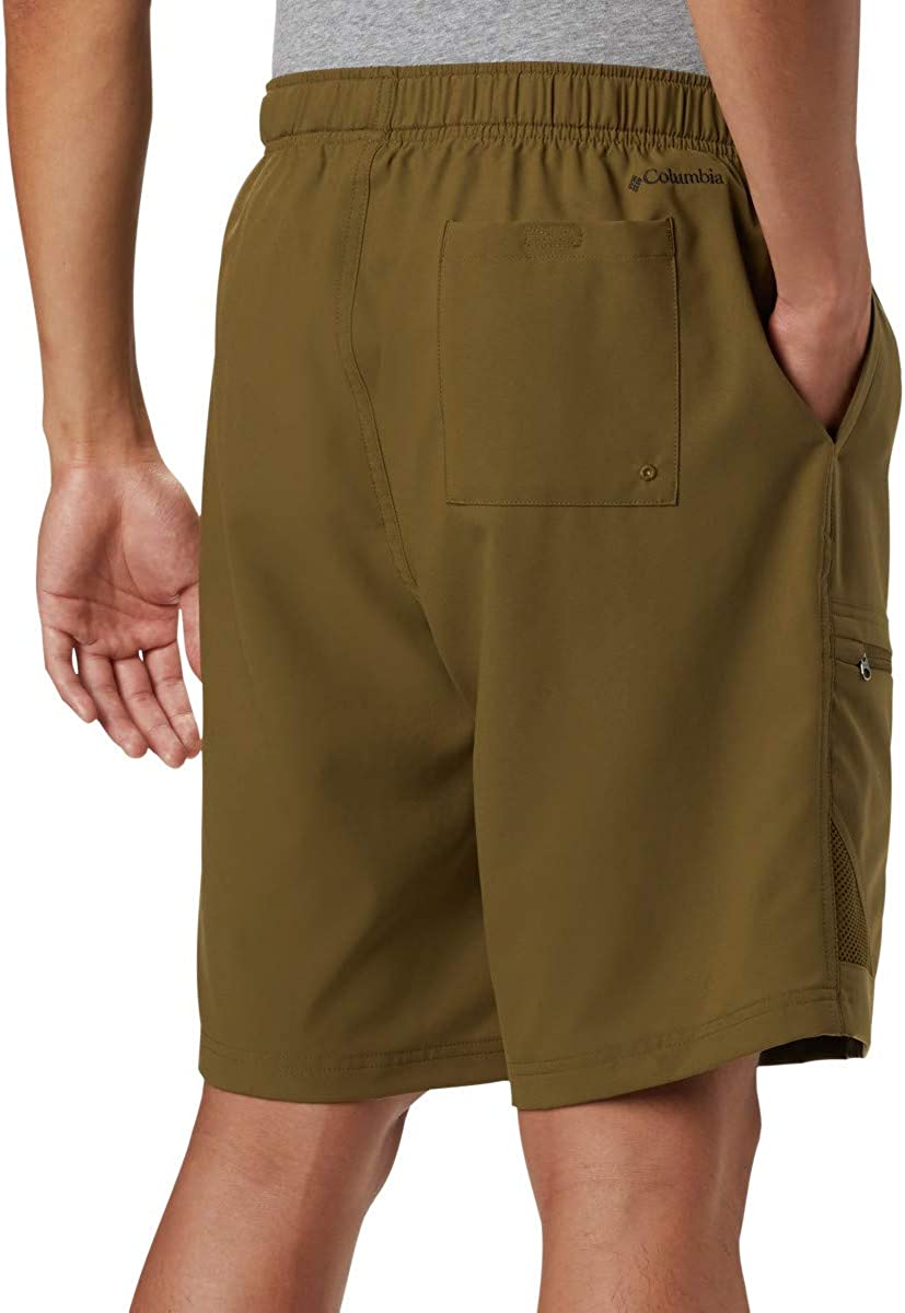 Columbia Mens Trail Splash Shorts Sun Protection Stain /& Water Resistant