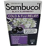 SAMBUCOL BLACK ELDERBERRY COLD & FLU, 30 TAB (2 Pack)