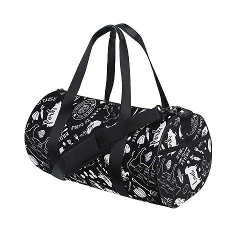 Amazon.com: Bolsa de deporte con diseño de mariposa para ...