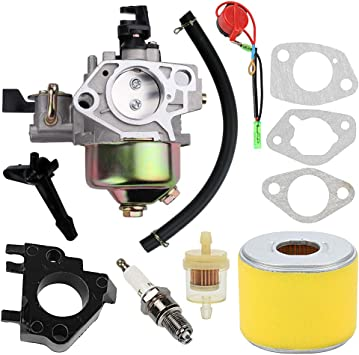 Amazon.com: 16100-ZF6-V01 Carburador para Honda GX340 GX390 ...
