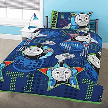 good Thomas and Friends Wheesh Junior Duvet Cover and Pillowcase Set    120cm x 150cm. good Thomas and Friends Wheesh Junior Duvet Cover and Pillowcase