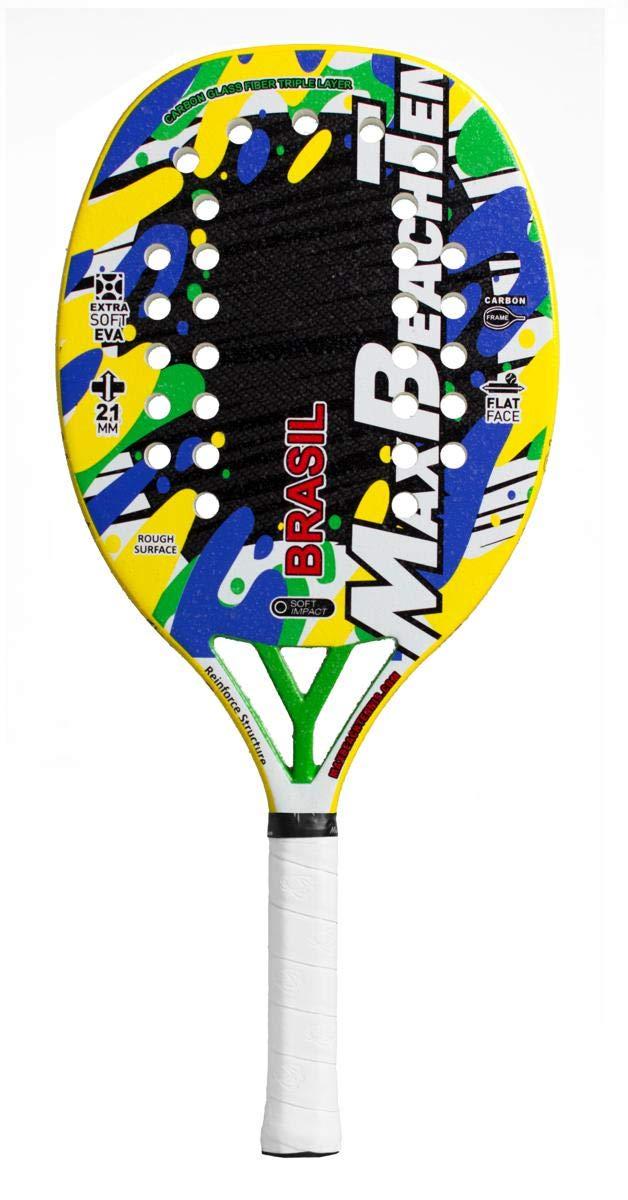 Pala de Tenis Playa MBT BRASIL 2019: Amazon.es: Deportes y aire libre