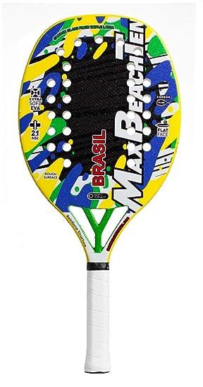 Pala de Tenis Playa MBT BRASIL 2019: Amazon.es: Deportes y ...