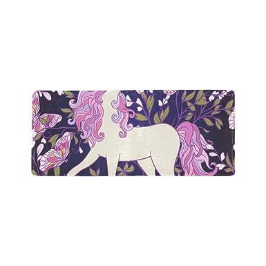 Amazon.com: Hermoso diseño de unicornio arcoíris a mano para ...