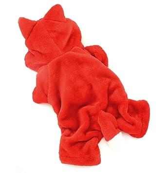 selmai raccoon dog halloween costumes pet coats puppy cat clothes small dog fleece hoodie jumpsuit pajamas