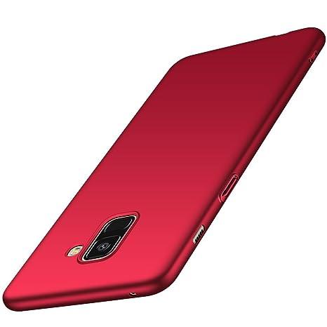 coque rouge a8 2018 samsung