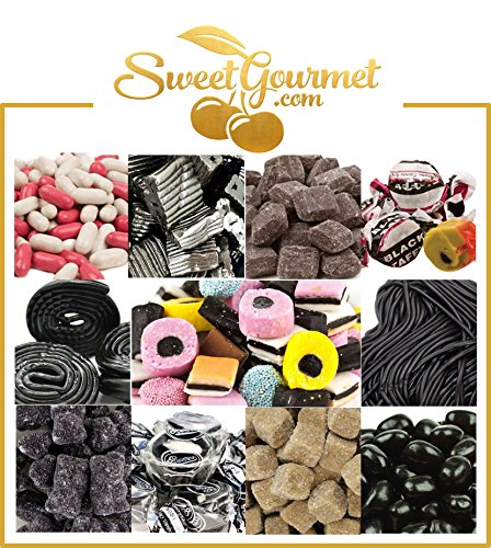 SweetGourmet World's Best Licorice Hamper - Candy Gift Basket Box With A Personal Message (Licorice Gift)