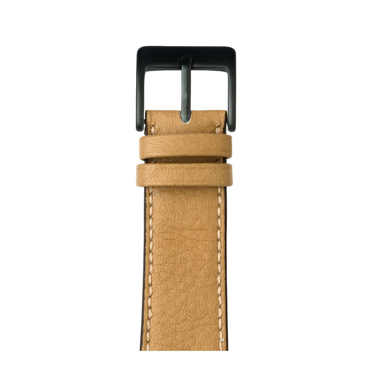 Roobaya | Premium Sauvage Leather Apple Watch Band in Sand | Includes Adapters matching the Color of the Apple Watch, Case Color:Space Gray Aluminum, Size:42 mm