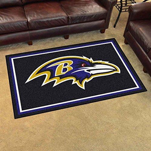 Ravens Bath Rugs, Baltimore Ravens Bath Rug, Ravens Bath