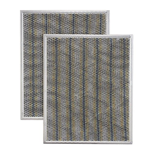 Broan Non Ducted Filter - Broan BPSF30 Non-Ducted Filter Set for 30-Inch Allure, 2-Pack
