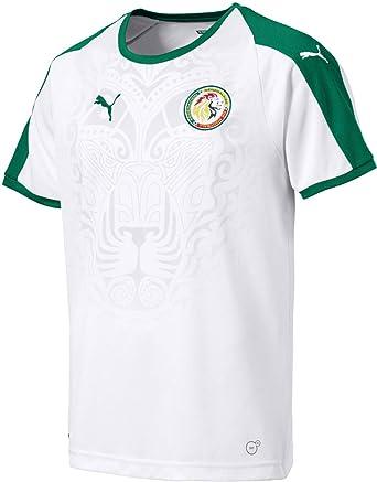 info for e38d7 efbb4 PUMA Senegal Men's Home Jersey World Cup Russia 2018 (White)
