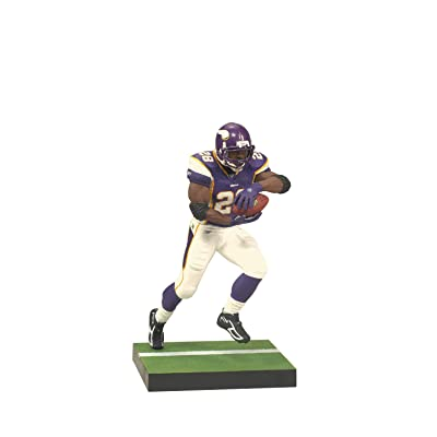 McFarlane Toys NFL Series 24 Adrian Peterson 3 Action Figure: Toys & Games