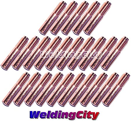 """17pcs .030/"""" kit MIG Welding Contact Tips Diffuser Nozzle Liner for Miller M25//40"""