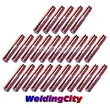 WeldingCity 25-pk MIG Welding Contact Tip 000-068 (0.035'') for Miller Millermatic M-10 M-15 M-25 M-40 M-100 M-150 Hobart H-9 H-10 MIG Guns
