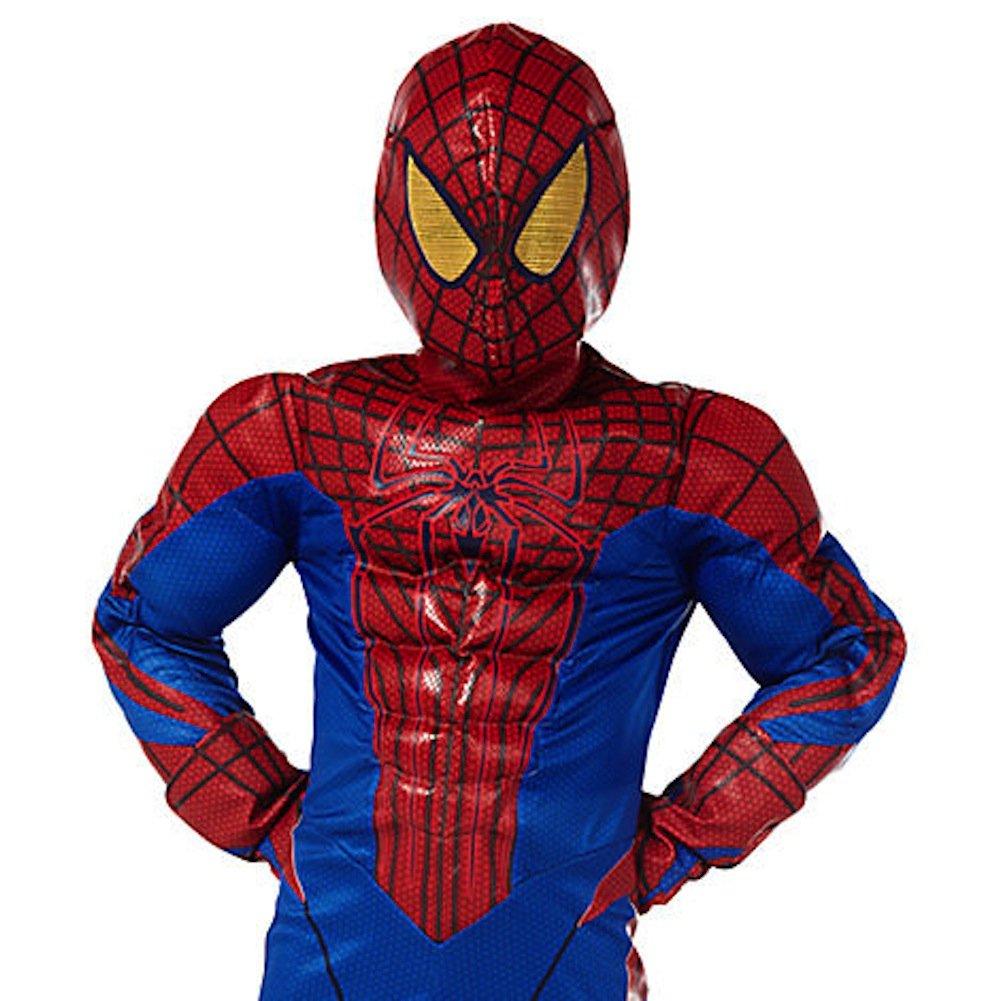 Amazon.com: Disney Deluxe Amazing Spiderman Spider Man Costume for ...