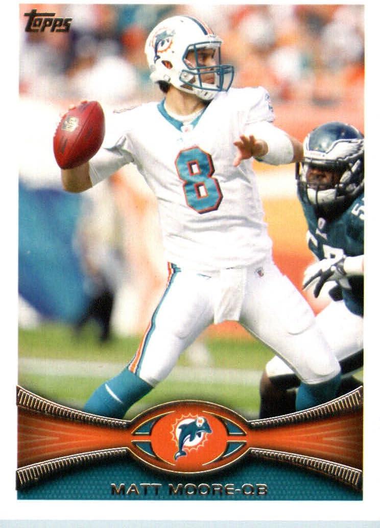 2012 Topps Football Card #276 Matt Moore