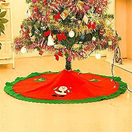 Desconocido QuickShop - Falda para árbol de Navidad (90 cm), Color ...
