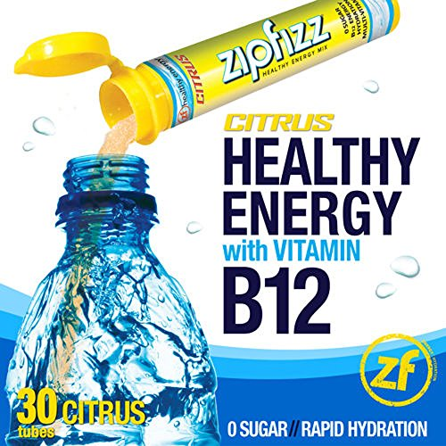 Zipfizz Citrus Healthy Energy Drink Mix - Transform Your Water Into a Healthy Energy Drink - 2 Boxes, 30 Tubes Each