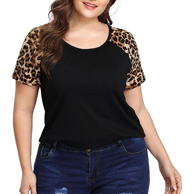 VENMO Camisetas Blusas Mujer, Mujer,Tops Mujer,Mujeres Moda Camiseta de Manga Corta