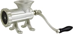 Chard HG-22 Meat Hand Grinder, No. 22, Silver
