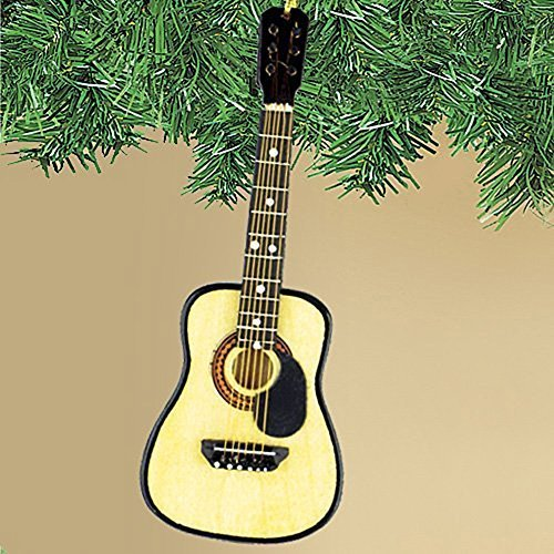 Broadway Gifts String Guitar W/Pick Guard Ornament ()