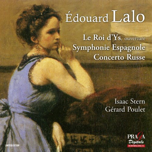 SACD : Gerard Poulet - Roi D'ys Overture Sym Espagnole Op 21 Cto Russe (Hybrid SACD, Multichannel/Stereo SACD, Direct Stream Digital)