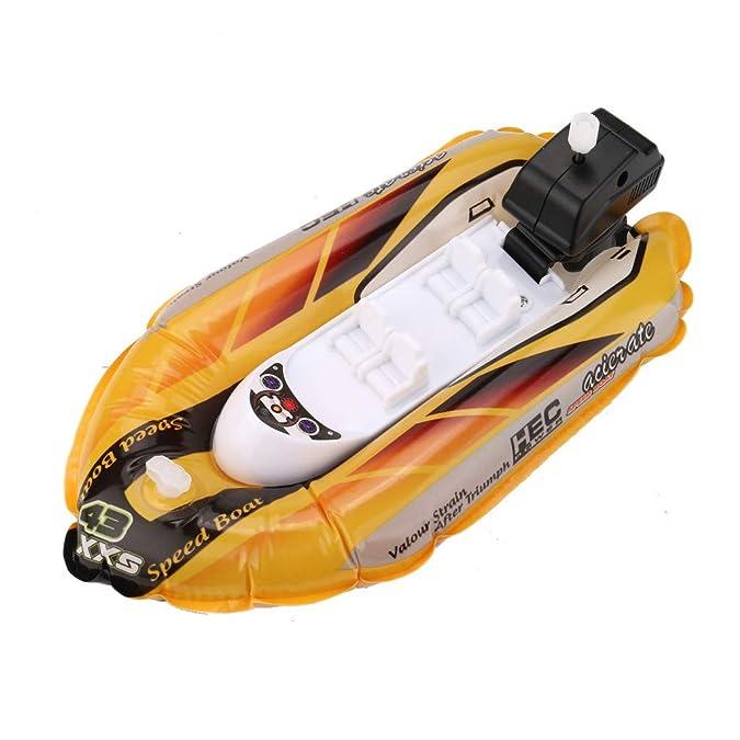 Amazon.com: 3 piezas Mini inflable Yate Boat Niños juguetes ...
