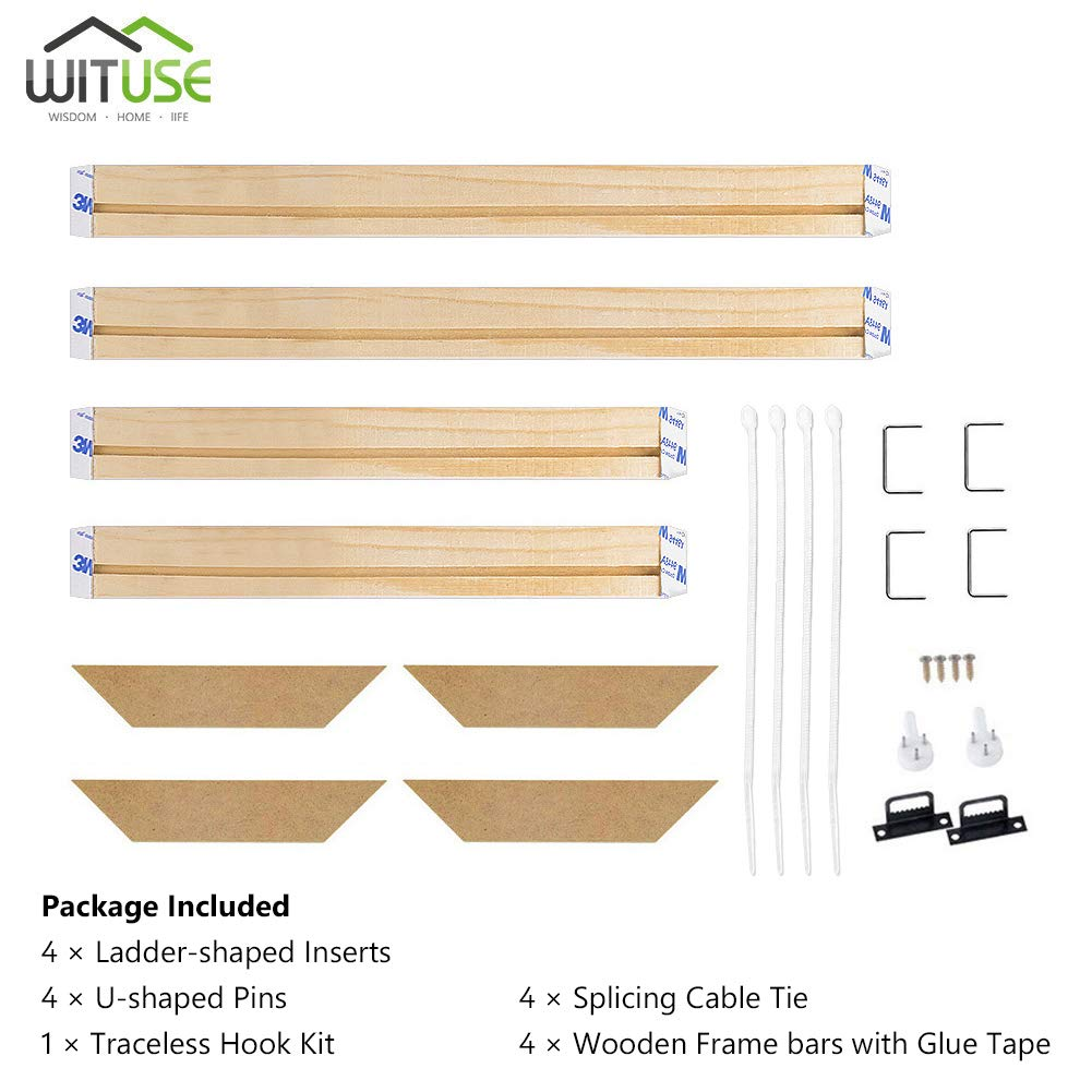 Canvas Wood Stretcher Bars Painting Wooden Frames for Gallery Wrap Oil Painting Posters Modern Life Accessory,20x22//50x55cm