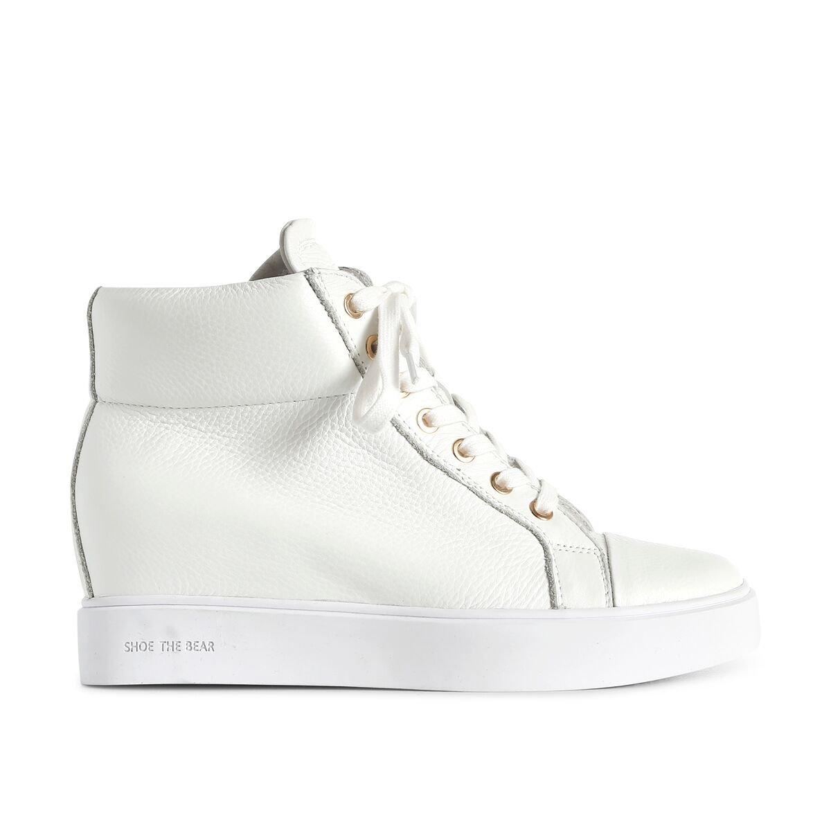 Shoe rack AVA High Top,  a Collo Alto Donna Wei? White 120)
