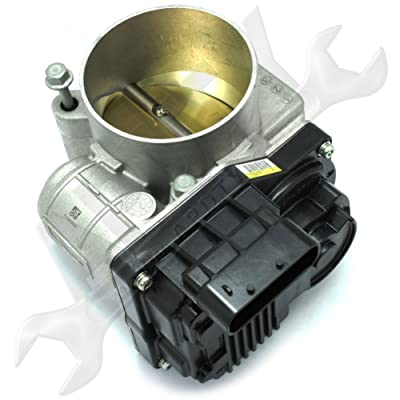 APDTY 112610 Throttle Body Electronic Assembly Fits 2004 Pontiac Grand Prix w/ 3.8L V6 Engine (Includes Internal Actuator Valve TPS Position IAC Idle Air Control Valve; Replaces 12582615, 217-1565): Automotive