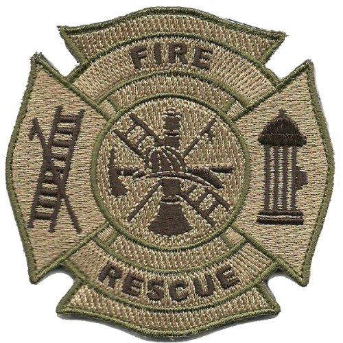 Fire & Rescue Tactical Patch - Multitan