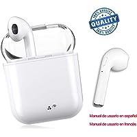 Auriculares inalámbricos con Bluetooth, estéreo, Deportivos, cancelación de Ruido, Compatible con Todos los teléfonos móviles