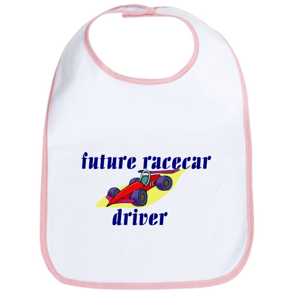 CafePress - Future Racecar Driver Bib - Cute Cloth Baby Bib, Toddler Bib